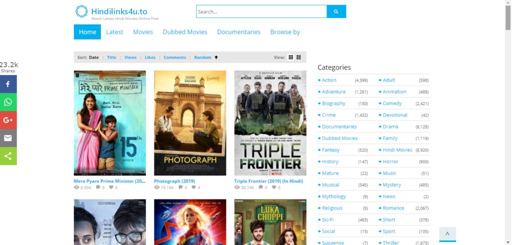 Hindilinks4u Dubbed Movies Hollywood